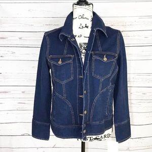 NWT Susan Bristol Classic Blue Jean / Denim Jacket